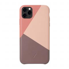 Native Union Clic Marquetry для iPhone 11 Pro Max (Цвет Розовый)