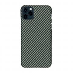 Pitaka MagEZ для iPhone 11 Pro Max (Цвет Black/Yellow (Twill))