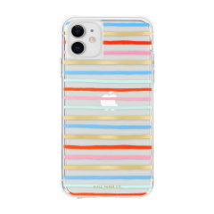Case-Mate Rifle Paper Co. для iPhone 11 (Цвет Happy Stripe)