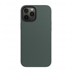 Силиконовый чехол SwitchEasy MagSkin для iPhone 12 Pro Max (Green)