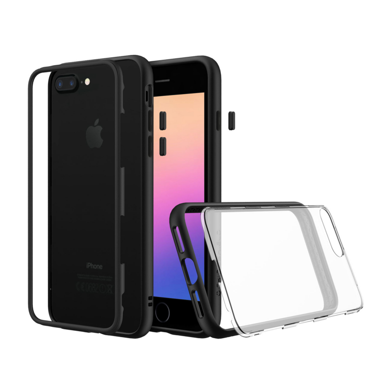 Чехол RhinoShield MOD на iPhone 7 Plus/8 Plus – (Цвет - Черный)