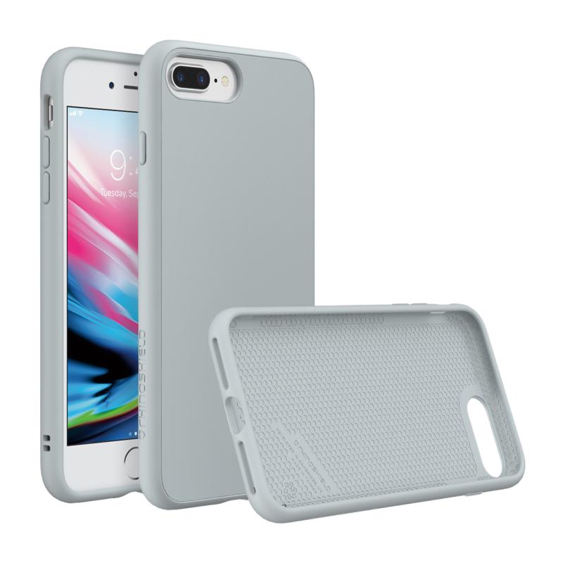 Чехол RhinoShield SolidSuite на iPhone 7 Plus/8 Plus – (Цвет - Светло серый)