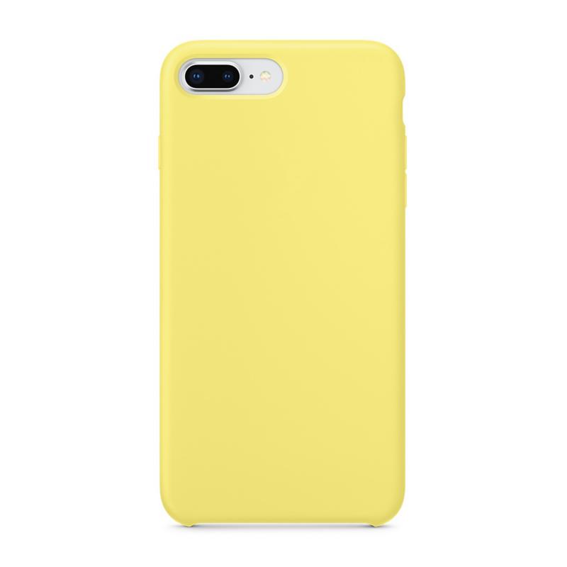 Силиконовый чехол для iPhone 7 Plus / 8 Plus (Цвет Желтый)