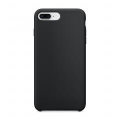 Силиконовый чехол для iPhone 7 Plus / 8 Plus (Цвет Черный)