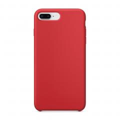 Силиконовый чехол для iPhone 7 Plus / 8 Plus (Цвет Красный)