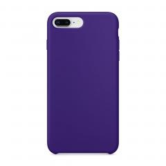 Силиконовый чехол для iPhone 7 Plus / 8 Plus (Цвет Фиолетовый)