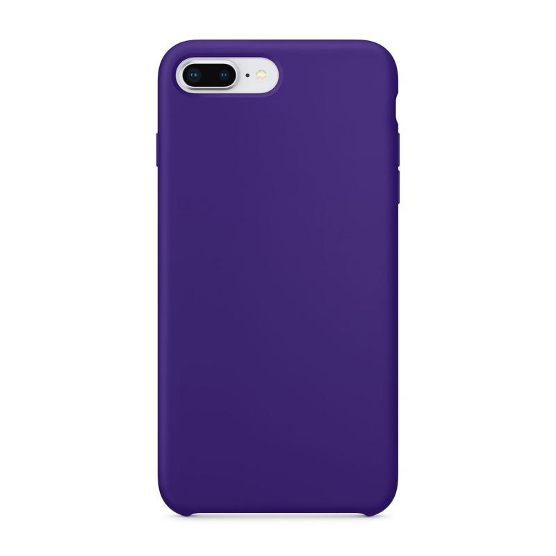 """Чехол силиконовый на iPhone 7 Plus / 8 Plus – (Цвет - """"Фиолетовый"""")"""