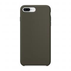 Силиконовый чехол для iPhone 7 Plus / 8 Plus (Цвет Оливковый)