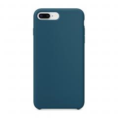 """Силиконовый чехол для iPhone 7 Plus / 8 Plus (Цвет """"Космический синий"""")"""