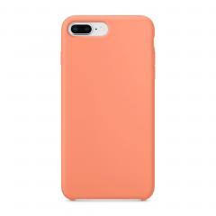 """Силиконовый чехол для iPhone 7 Plus / 8 Plus (Цвет """"Персиковый"""")"""