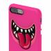 Чехол SwitchEasy Monsters для iPhone 7 Plus / 8 Plus (Цвет Розовый)