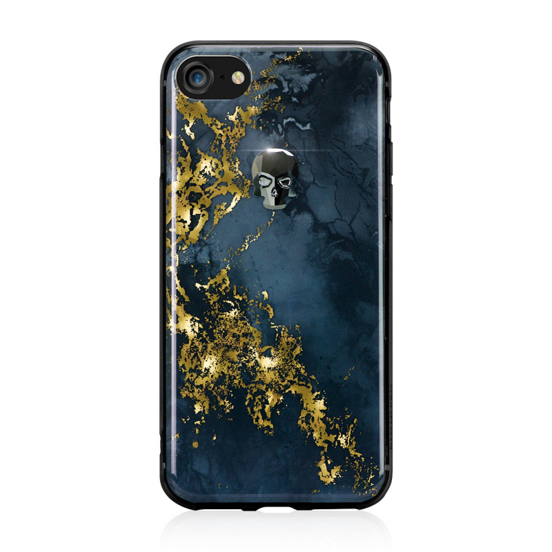 Чехол BMT Treasure Onyx на iPhone 7/8 – (Цвет - Hematite Skull)