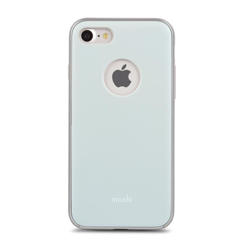 Чехол Moshi iGlaze на iPhone 7/8 – (Цвет - Голубой)