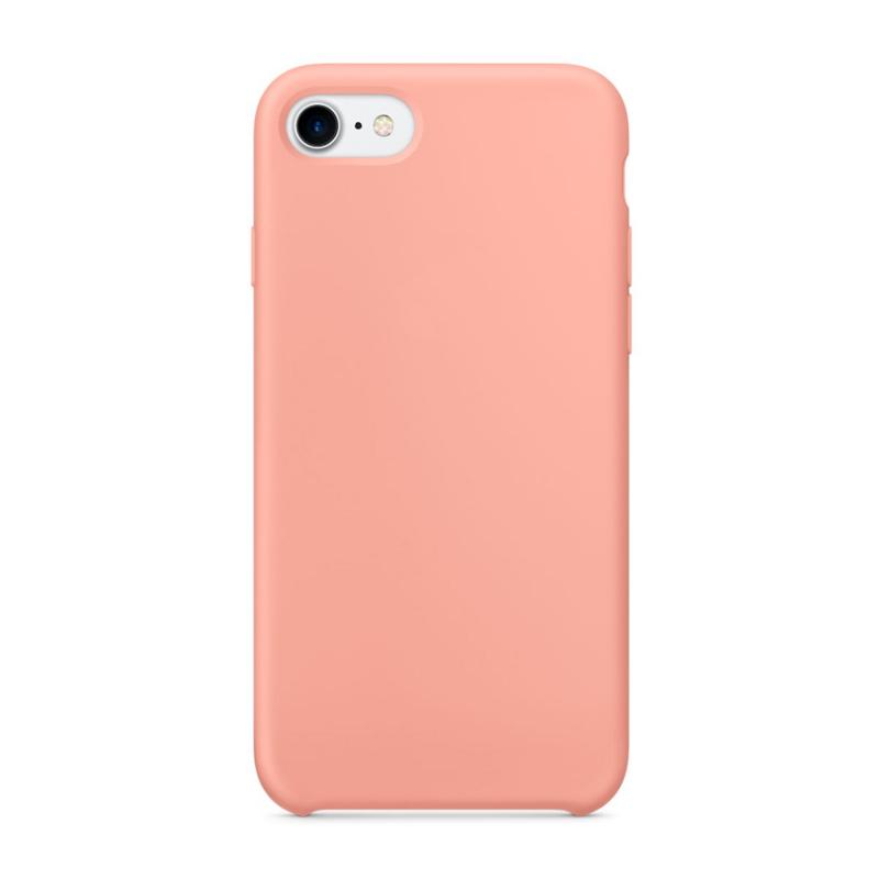 """Чехол Силиконовый на iPhone 7 / 8 – (Цвет - """"Фламинго"""")"""