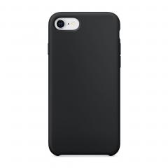Силиконовый чехол для iPhone 7 / 8 (Цвет Черный)