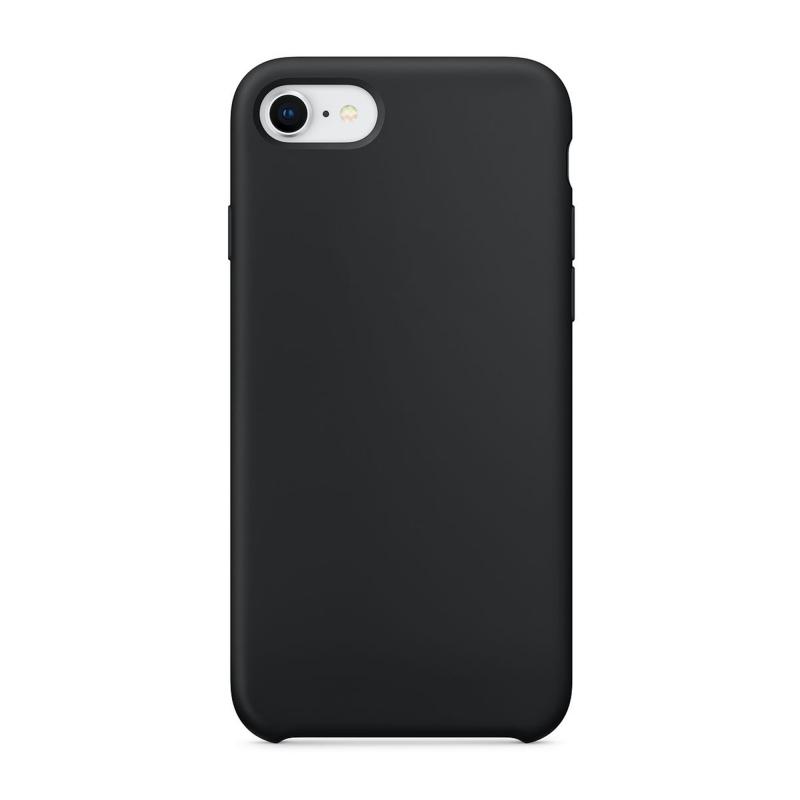 """Чехол Силиконовый на iPhone 7 / 8 – (Цвет - """"Черный"""")"""