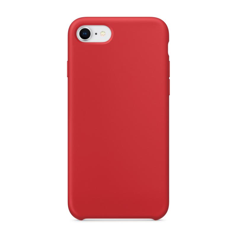 """Чехол Силиконовый на iPhone 7 / 8 – (Цвет - """"Красный"""")"""