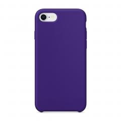 Силиконовый чехол для iPhone 7 / 8 (Цвет Фиолетовый)