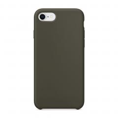 Силиконовый чехол для iPhone 7 / 8 (Цвет Оливковый)