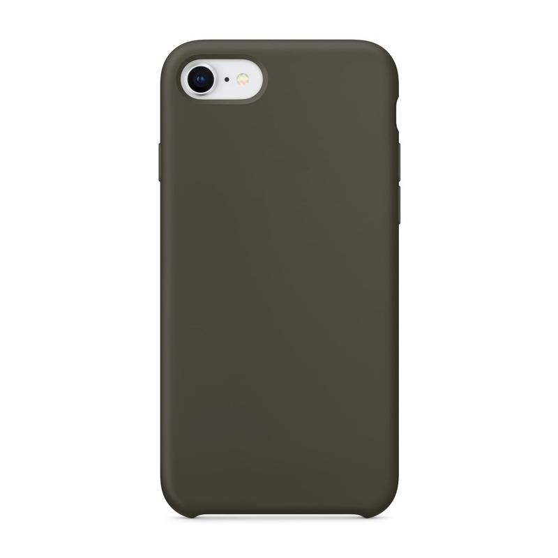 """Чехол Силиконовый на iPhone 7 / 8 – (Цвет - """"Оливковый"""")"""