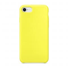 Силиконовый чехол для iPhone 7 / 8 (Цвет Желтый)
