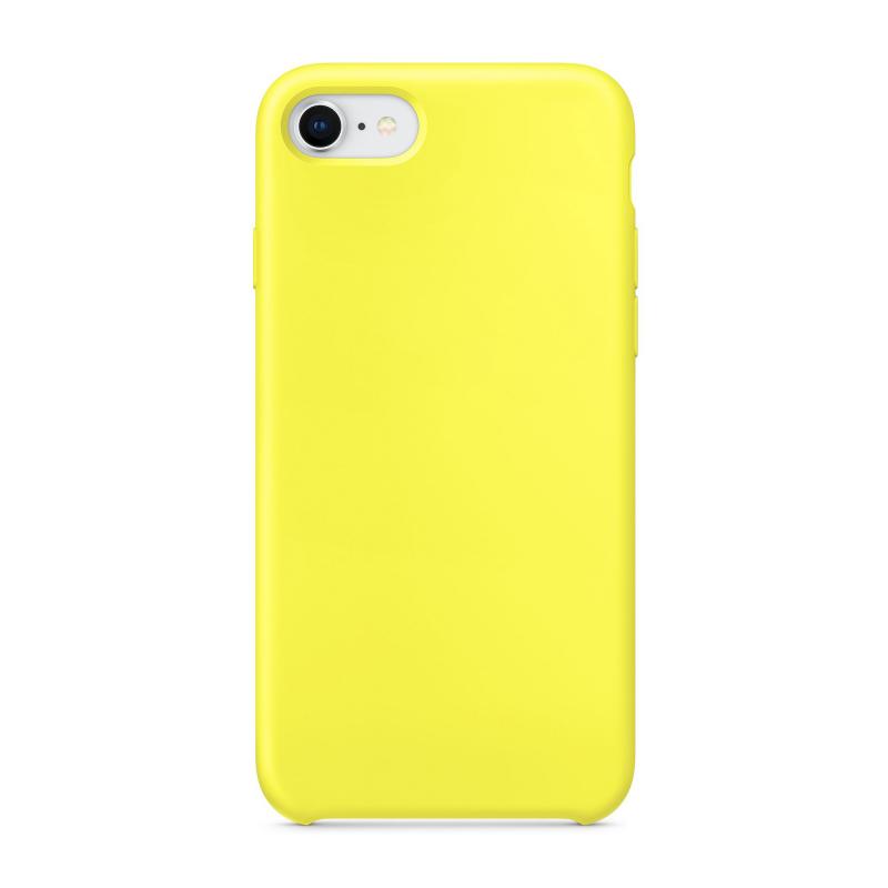 """Чехол Силиконовый на iPhone 7 / 8 – (Цвет - """"Желтый"""")"""
