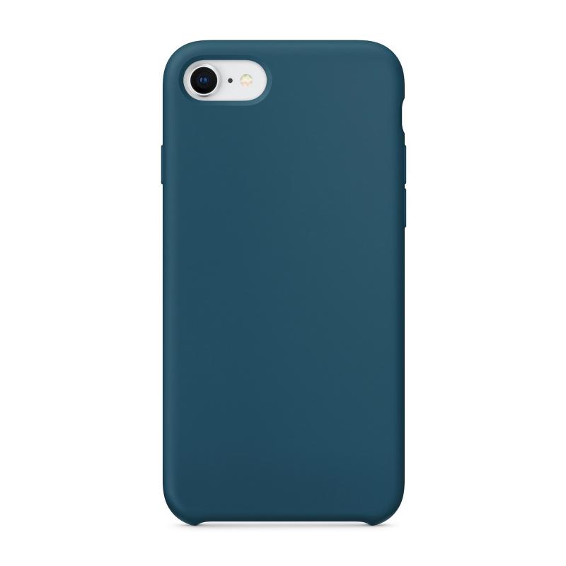 Силиконовый чехол для iPhone 7 / 8 (Цвет «Космический синий»)
