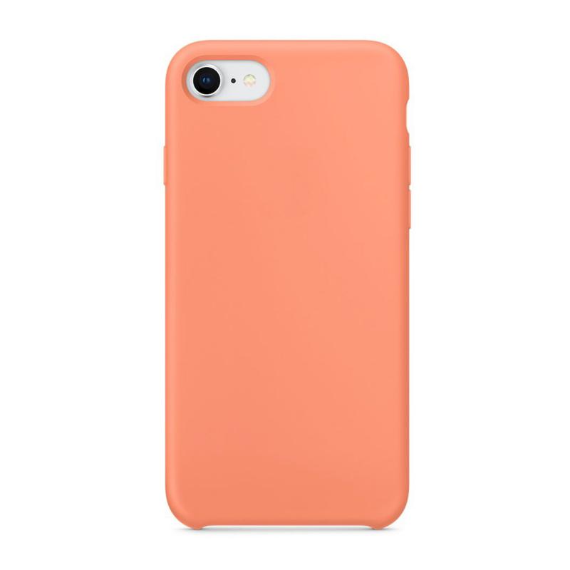 """Чехол Силиконовый на iPhone 7 / 8 – (Цвет - """"Персиковый"""")"""