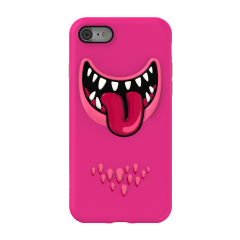 SwitchEasy Monsters для iPhone 7 / 8 (Цвет Розовый)
