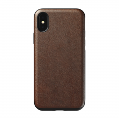 NOMAD Rugged Case для iPhone X / Xs (Коричневый)
