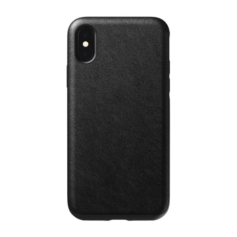 NOMAD Rugged Case для iPhone X / Xs (Черный)