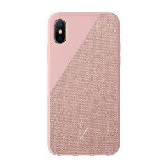 Native Union Clic Canvas для iPhone Xs Max (Rose)
