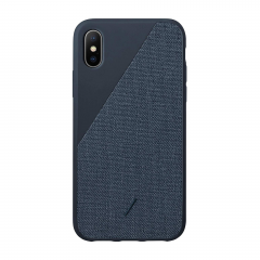 Native Union Clic Canvas для iPhone Xs Max (Navy)