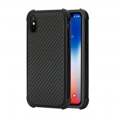 Защитный чехол Pitaka MagEZ Pro для iPhone X (Black / Grey)