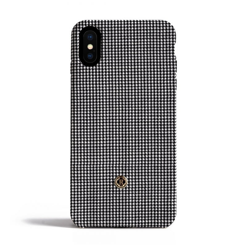 Чехол Revested Houndstooth на iPhone X