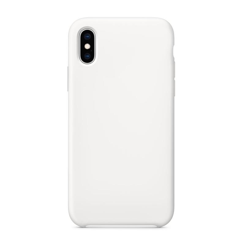 "Чехол на iPhone X (Цвет ""Белый"")"