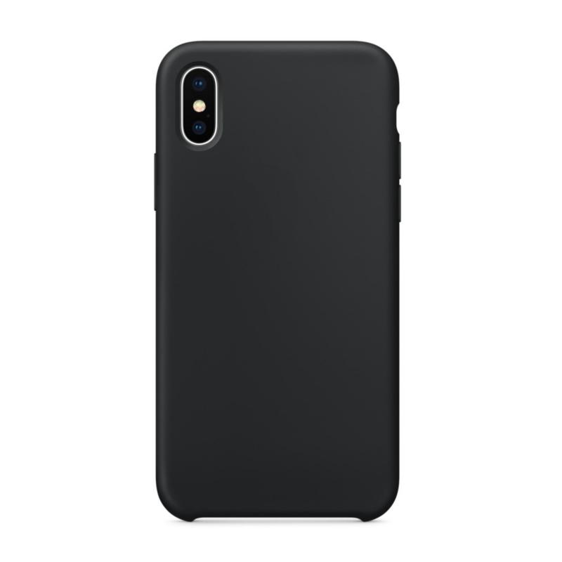 Чехол на iPhone X (черный)