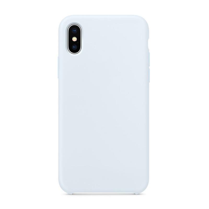 """Чехол на iPhone X (Цвет """"Голубое небо"""")"""