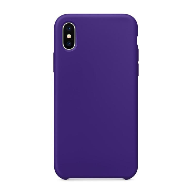 """Чехол на iPhone X (Цвет """"Фиолетовый"""")"""