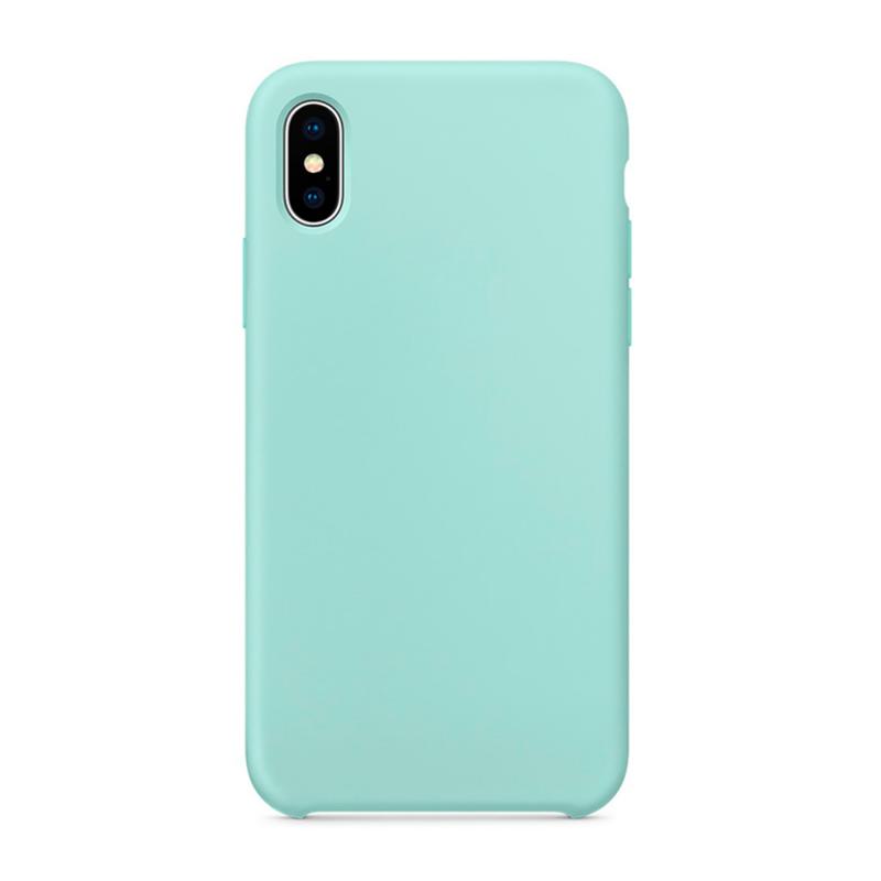 """Чехол на iPhone X (цвет - """"Морской"""")"""