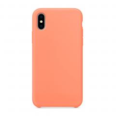 """Силиконовый чехол для iPhone X (Цвет """"Персиковый"""")"""