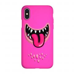 SwitchEasy Monsters для iPhone X / Xs (Цвет Розовый)