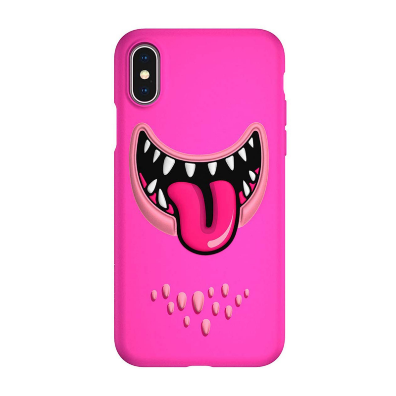 SwitchEasy Monsters для iPhone Xs Max (Pink)