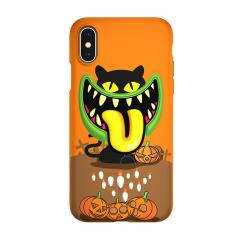 "SwitchEasy Monsters для iPhone Xs Max (Цвет ""Привидение"")"