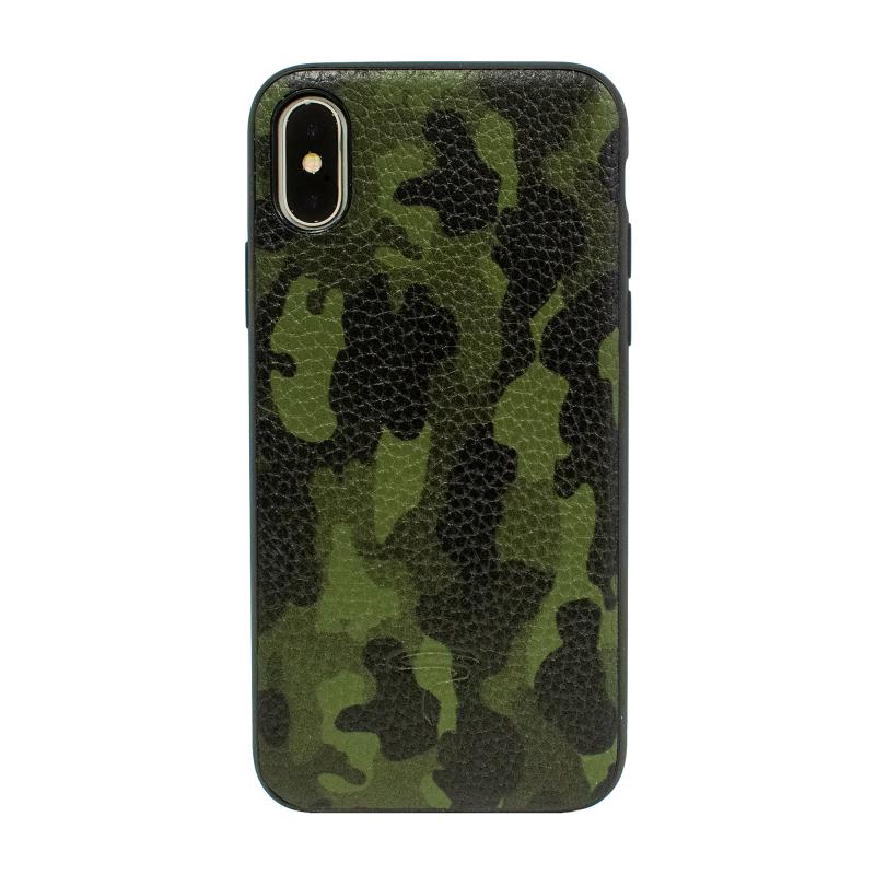 Чехол TORIA Camouflage на iPhone X / Xs (Army)