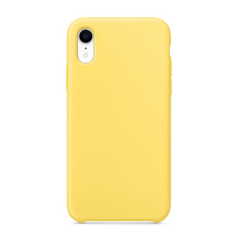 """Чехол на iPhone XR (Цвет """"Канареечный"""")"""