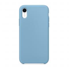 """Силиконовый чехол для iPhone XR (Цвет """"Синие сумерки"""")"""
