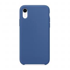 """Силиконовый чехол для iPhone XR (Цвет """"Голландский синий"""")"""