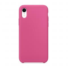 """Силиконовый чехол для iPhone XR (Цвет """"Тёмная фуксия"""")"""