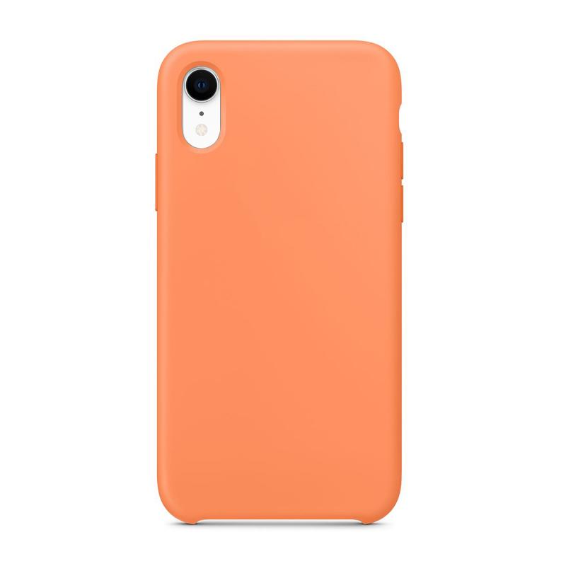 """Чехол на iPhone XR (Цвет """"Свежая папайя"""")"""